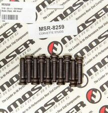 "Moser Engineering 8259 Wheel Stud from Steel - 7/16-20x1.750x0.480"" Set of 10"