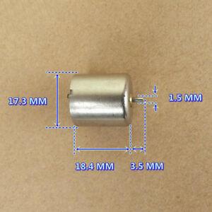 DC 5V 16800RPM 17mm 5-Pole Rotor Mini Coreless Motor Strong NdFeB Magnetic Motor