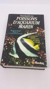 Encyclopédie des poissons d'aquarium - Frank de Graaf - Bordas (1993)