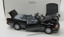 Mercedes Benz 300 ce-24/w124 (1990) negro/norev 1:18