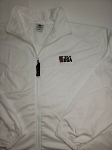 United States Olympic Committee Team USA Full Zip Track Jacket Mens Size 3XL