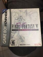 Final Fantasy V Factory Sealed  Gameboy Advance