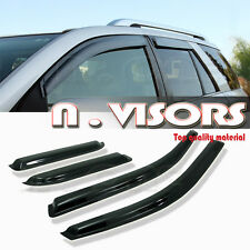 Mazda5 06 07 08 09 10 4Door MiniVan Window Visors Rain/Sun/Wind Guard Vent Shade