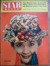 STAR REVUE 13- 1960 Lilo Pulver Bubi Scholz Christine Kaufmann Tina Onassis Dahl