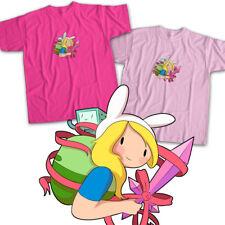 Adventure Time Fionna Magical Girl BMO Beemo Sword Kawaii Fun Unisex Tee T-Shirt