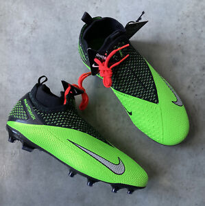 Nike Jr Phantom VSN 2 Elite DF FGMG Soccer Cleats Size 5Y MSRP $175 CD4062-306