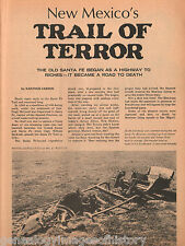Santa Fe, New Mexico Trail of Terror - The Chavez Expedition