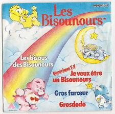 Disque vinyle 45T LES BISOUNOURS 1986. DV021