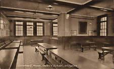 Islington. Owen's School Luncheon Room. Card by P.A. Buchanan & Co.