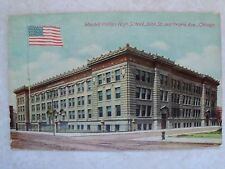 Wendell Phillips High School 38th St.& Prairie Ave., Chicago, IL. c1911 Postcard