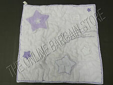 Pottery Barn Kids Pbk Andrea Lavender Bed Quilted Pillow Sham Euro Square Stars