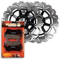 Front Brake Rotor+Pads for Suzuki VLR 1800 Boulevard C109R & Touring [2008-2010]