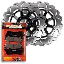 Suzuki Front Brake Rotor + Pads VLR 1800 Boulevard C109R & Touring [2008-2010]