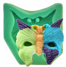 Masquerade Mask Butterfly Shape Silicone Mold - Fondant, GP, Chocolate, Crafts