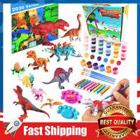 Dinosaur Toys Arts & Crafts Painting Creativity DIY Kits Gift for Kids Age 3+