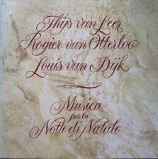 THIJS VAN LEER / ROGIER VAN OTTERLOO / LOUIS VAN DIJK - MUSICA NOTTE NATALE- LP