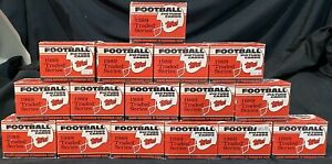 (16) 1989 TOPPS TRADED COMPLETE 132 CARD SET LOT BARRY SANDERS AIKMAN ROOKIE !