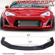 Universal Fit JDM GR Style Front Bumper Lip Spoiler Splitter Wings Civic Del Sol