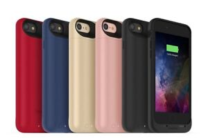 Mophie Juice Pack air Battery Case Cover For iPhone 8 & 7 Rose Gold/Red/Black