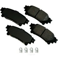 Disc Brake Pad Set-ProACT Ultra Premium Ceramic Pads Rear Akebono ACT1391