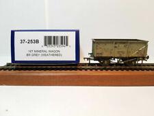 Bachmann 16t Steel Mineral Wagon BR Grey Weathered 37-253b