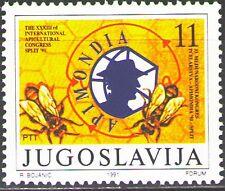 Yugoslavia1991 Sc2117 Mi2506 1v mnh 33rd Intl. Apicultural Congress,APIMONDIA`91
