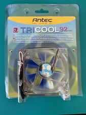 Antec TriCool 92mm PC Computer Cooling Fan with 3-Speed Switch, New