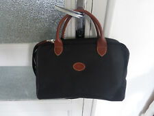 ancien vanity grande trousse toilette sac voyage Longchamp vintage france