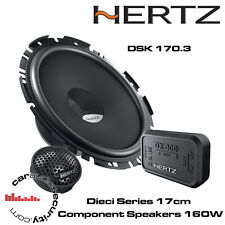 Hertz DSK170.3 Dieci Series 17cm 2-Way Component Door Speakers Pair 160W Each