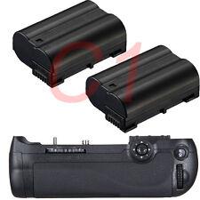 NEW Battery Grip for Nikon D600 D610 DSLR + 2x EN-EL15 ENEL15 MB-D14 Camera