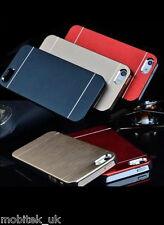 """Ultra Slim Brushed Metal Aluminium Luxury Case Cover iPhone 4,5,6(4.7""""),6 Plus"""