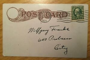 # USA Military Postcard 1922 - Join the 147th Infantry - U. S. N. G.