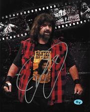 Mick Foley Autographed Signed 8x10 Photo Cactus Jack Mankind (JSA PSA Pass) WWE