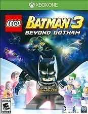 LEGO BATMAN 3: BEYOND GOTHAM (XBOX ONE, 2014) (7291)     ***FREE SHIPPING USA***