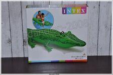 Kinderbadespaß Schwimmtier Krokodil Best Way Aufblasspielzeug 168 x 79 cm Neu & OVP