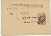 """2427 189? QV 1/2d brown VF wrapper barred cancel """"E.C / G"""" Parmenter not listed!"""