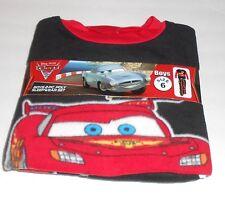 Disney Pixar Cars Boys Two (2) Piece Fleece Pajama Set Blue Six (6) NWT