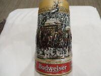 """Anheuser Busch Budweiser Stein 1987 """"C Series"""" Clydesdale Grant's Farm Stein"""