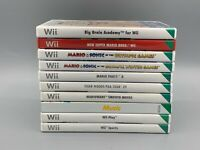 Nintendo Wii Games - Multi-Listing - Pick The Game You Want