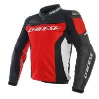 DAINESE Racing 3 sportliche Motorrad Lederjacke NEU!
