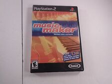 MAGIX Music Maker Sony PlayStation 2 2003 CIB Complete Tested Video Game PS2 PSX