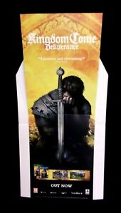 Kingdom Come Deliverance Retail Display Stand Standee NOT A GAME - UK Seller
