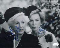 Shirley MacLaine & Olympia Dukakis Signed STEEL MAGNOLIAS 8x10 Photo JSA COA