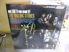 Rolling Stones Got LIVE If You Want It vinyl LP London Records EX IN Shrink