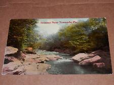 TOWANDA PA - 1912 POSTCARD - BRADFORD COUNTY - Scenery