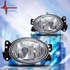 07-12 Mercedes Benz G-Class Fog Lights Front Lamps Clear Lens PAIR SET