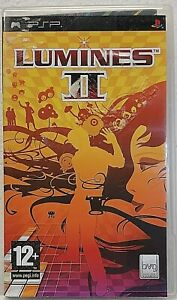 LUMINES II 2 Sony PSP Playstation with booklet