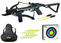 The Seeker 80 Lb Crossbow Ultimate Package w/ Case, Target, and 12 Extra Bolts