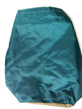 "Boots & Barkley Pet Food, Treat, and Toy Storage Bag 17"" x 9"", Teal Please Read"
