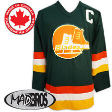 SlapShot Movie BLADES Hockey Jersey *Officially Licensed* Made in Canada